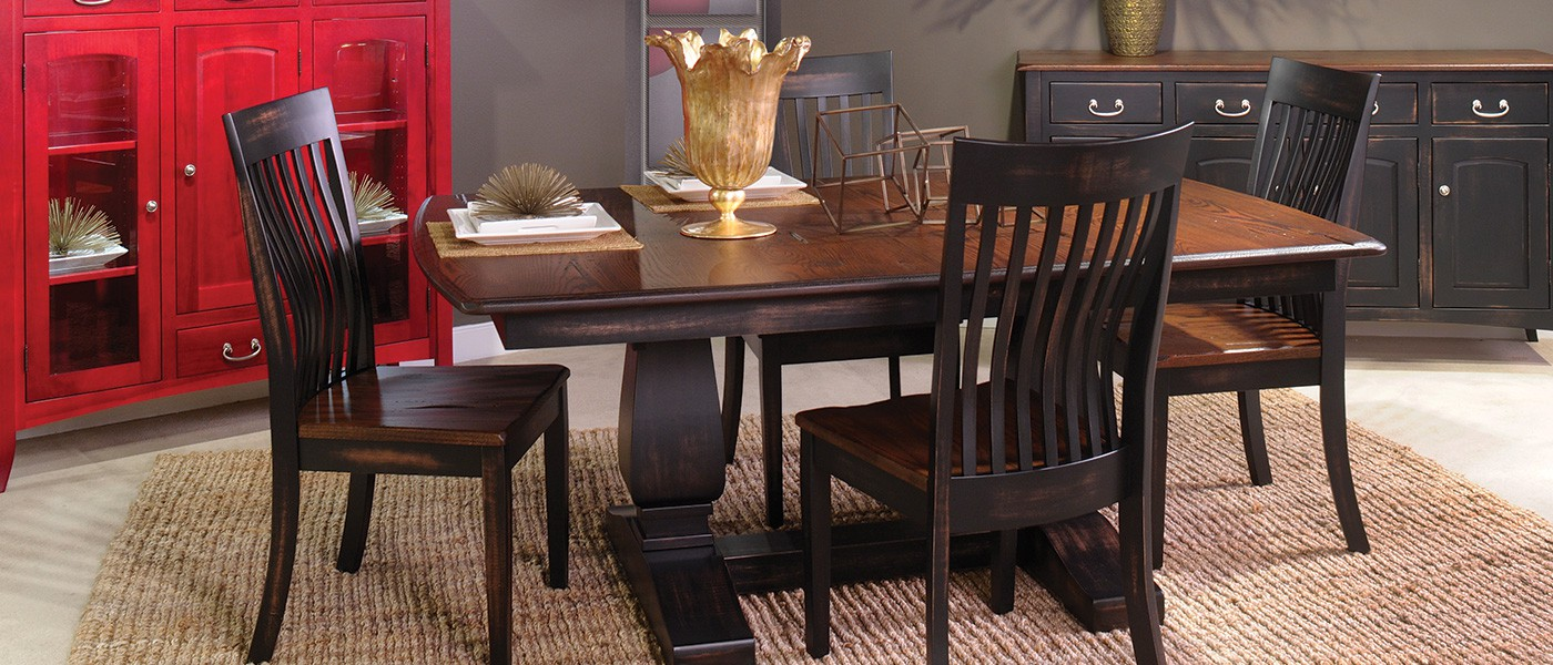 double_pedestal_dining_set