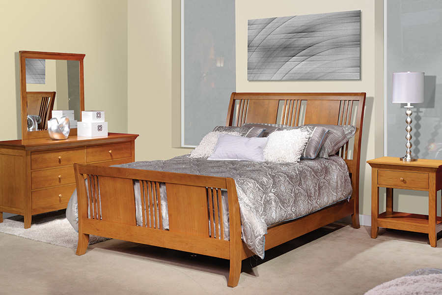 american expressions sleigh bedroom set