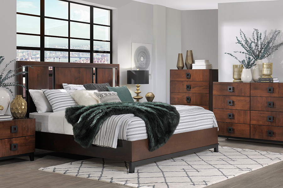 american modern bedroom collection