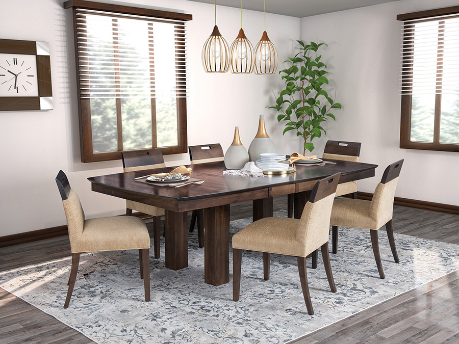 champagne dining room collection