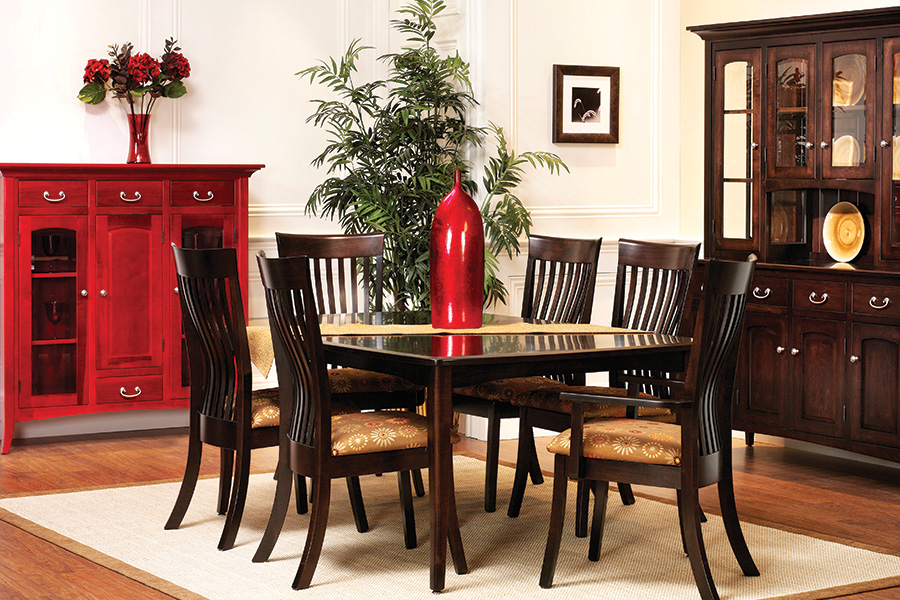 cvw series 23 shaker dining collection