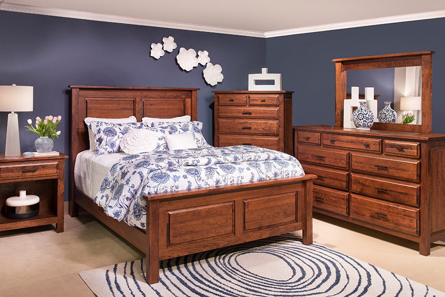 durango hand-planed bedroom collection