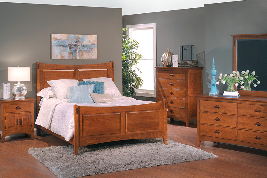 Great Lakes panel bedroom collection