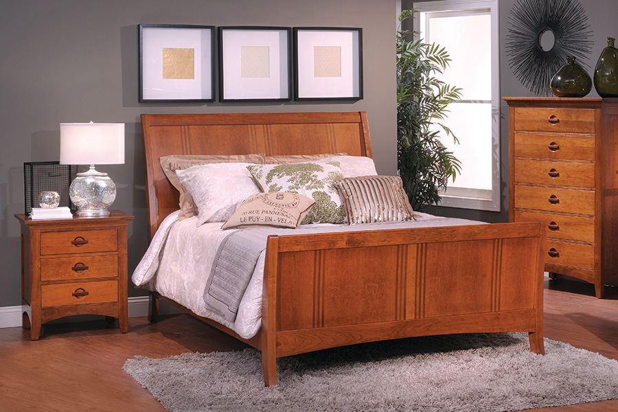 Great Lake sleigh bedroom collection