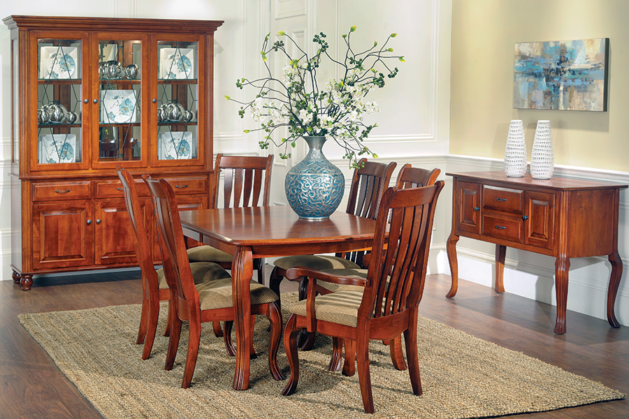 hampton leg table dining room collection