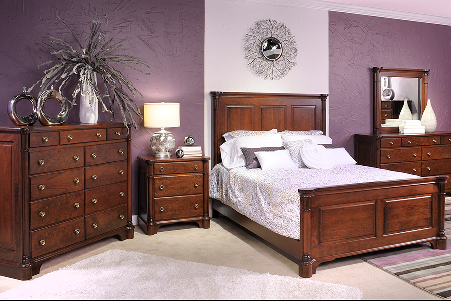 jamestown panel bedroom collection