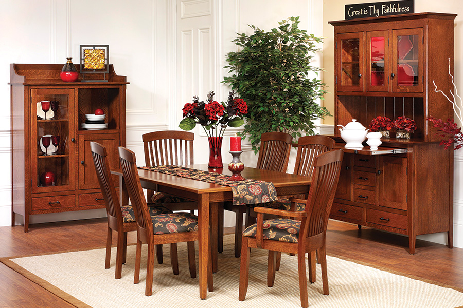 cvw series 24 shaker dining collection