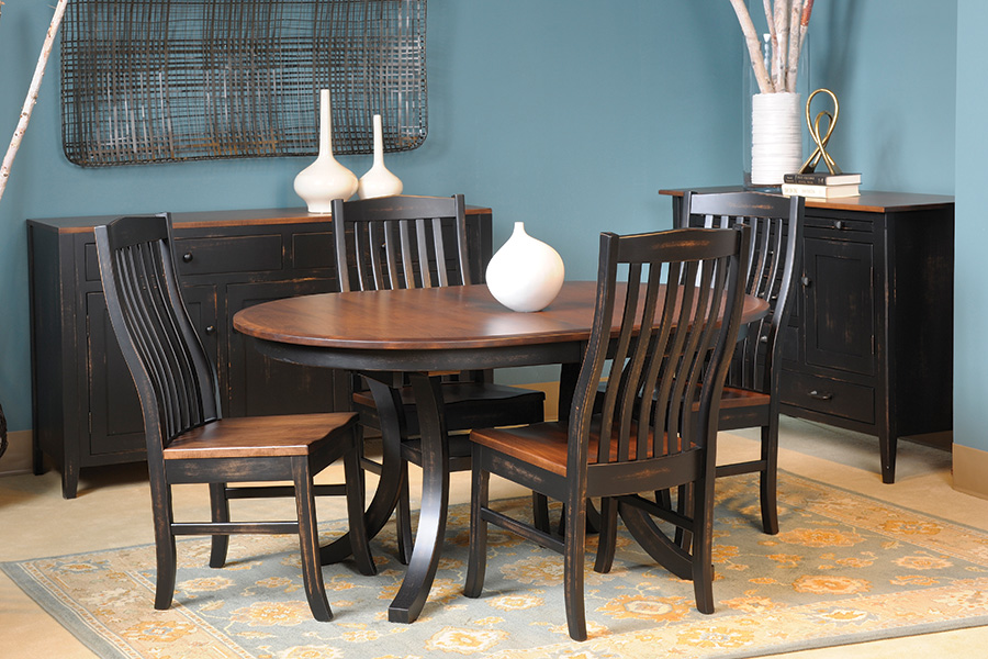 trestle dining collection