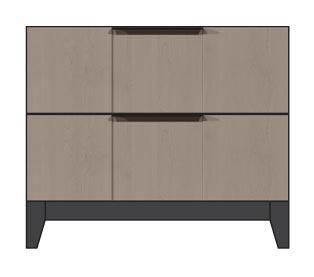 28 inch 2 drawer nightstand