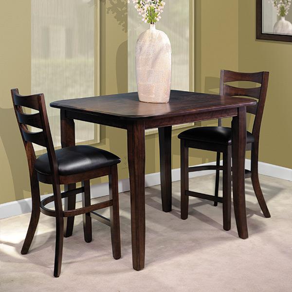 square top leg table