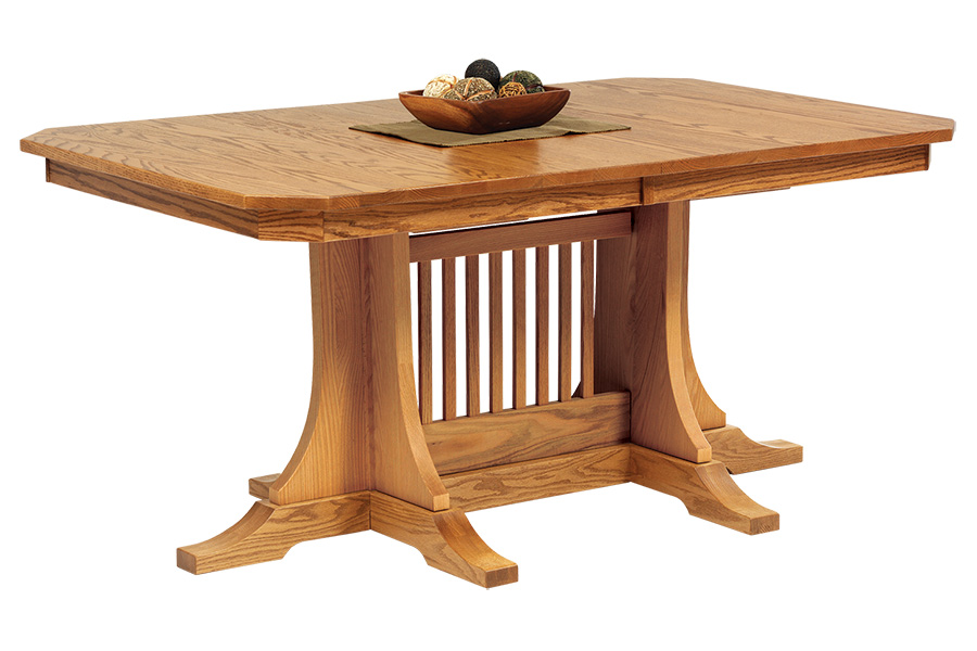 cvw mission with rail table with two leaves