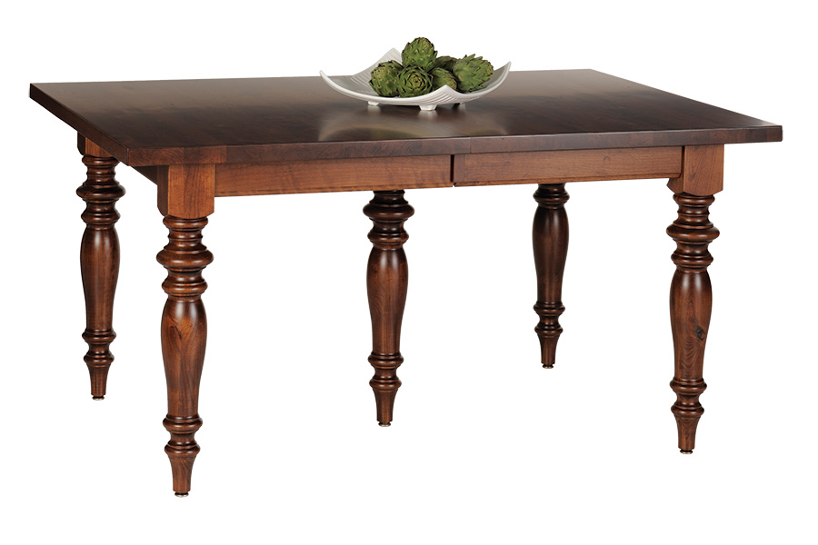 rectangle top leg table