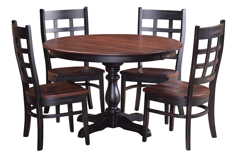 premier express single pedestal table from cvw