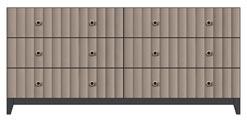 73 inch 6-drawer dresser