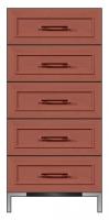 24 inch 5-drawer chest