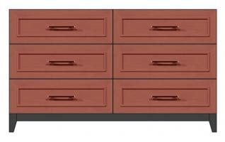 56 inch 6-drawer dresser