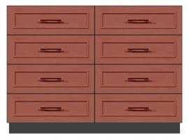 56 inch 8 drawer dresser
