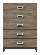 36 inch 5-drawer chest