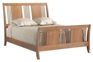 american expressions queen sleigh bed