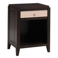 Franklin Park 1-Drawer, Open Base Nightstand