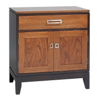 eastwood 1 drawer 2 door nightstand