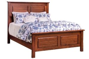 durango queen raised panel bed