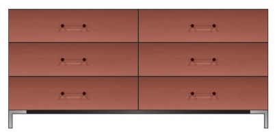 72 inch six drawer dresser