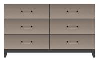 56 inch 6 drawer dresser