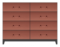 56 inch six drawer dresser