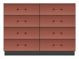 56 inch six drawer dresser