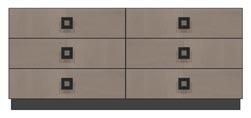 72 inch six drawer dresser
