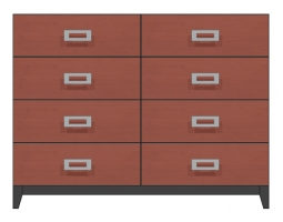 56 inch eight drawer dresser