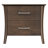 220-ns228-d2 westwood 2drw nightstand