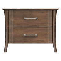 22-=ns232-d2 westwood 2drw nightstand