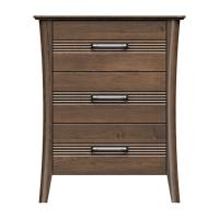 220-bc328-d4 westwood 3drw bedside chest