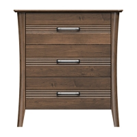 220-bc332-d4 westwood 3drw bedside chest