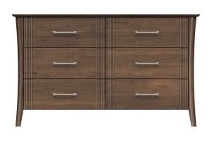 220-dr656-d2 westwood 6drw dresser