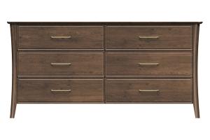 220-dr668-d1 westwood 6drw dresser