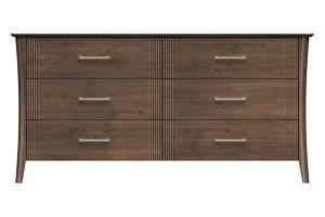 220-dr668-d2 westwood 6drw dresser