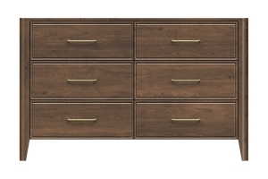 320-dr654-d1 westwood 6drw dresser