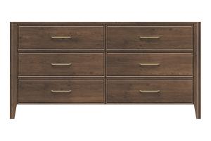 320-dr666-d1 westwood 6drw dresser