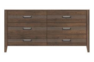 320-dr666-d4 westwood 6drw dresser